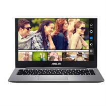 华硕  思聪本进化版E403轻薄便携 14英寸笔记本电脑(奔腾四核 4G 128GSSD 金属灰 FHD)