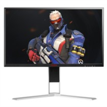 AOC AG271FX 27英寸 144hz 1ms响应 FreeSync技术 全接口游戏电竞旋转升降显示器