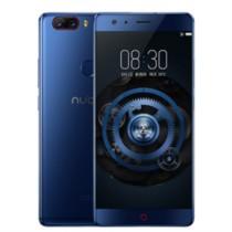 努比亚 Z17 无边框 极光蓝 8GB+128GB 全网通 移动联通电信4G手机 双卡双待