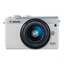 佳能 EOS M100(15-45 IS STM/55-200 IS STM双镜头) 银色