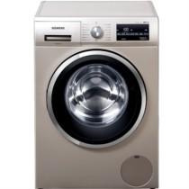 西门子 XQG100-WM12P2692W 10公斤 变频滚筒洗衣机 BLDC电机  LED触摸键 (缎光银)