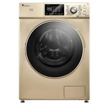 小天鹅  TD100V81WIDG 10公斤洗烘一体 变频滚筒洗衣机 免熨烫烘干 精准自动投放超净洗涤 金色