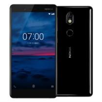 诺基亚 7 6GB+64GB 黑色 全网通 双卡双待 移动联通电信4G手机