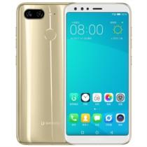 金立 S11L全面屏手机 太空金 4GB+64GB 移动4G全网通手机 双卡双待