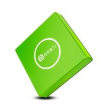 迪优美特 X800 爱奇艺合作4K电视盒子2+32G 送会员 无线wifi高清机顶盒