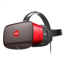 AOC VR眼镜头盔 3d虚拟现实智能pc电脑设备头戴式vr游戏机(无定位地毯)