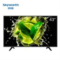 创维 43X6 43英寸10核智能网络平板液晶电视 (黑色)