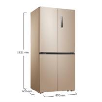 美的 BCD-468WTPM(E)  468升 多维智能双变频十字对开多门冰箱 63.6cm薄身 风冷无霜 芙蓉金