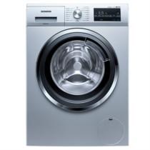 西门子  10公斤 洗烘一体洗衣机 3D立体烘干 热风除菌 (欧若拉银)XQG80-WD14G4641W