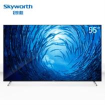 创维 Q3A 4K超高清电视HDR智能网络液晶平板电视机防蓝光护眼电视 55Q3A(55英寸)