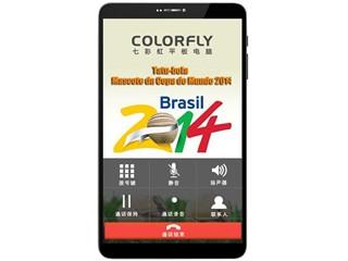 Colorfly 七彩虹 G808 3G 8英寸四核3G通话平板电脑 (1280*800分辨率
