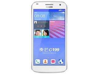 华为麦芒C199 16GB 电信版4G手机 双卡双待 月光银 华为麦芒C199
