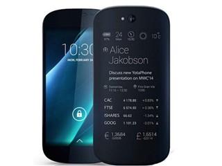 Yota phone  2 BLACK 32GB 联通版3G手机(黑色)
