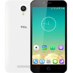 TCL 么么哒 P318L 双卡双待 电信4G手机 闪耀白