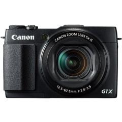 佳能 G1 X Mark II 数码相机 黑色(1310万像素 5倍光学变焦 3英寸液晶