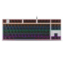 雷柏 V500S合金版混彩背光游戏机械键盘