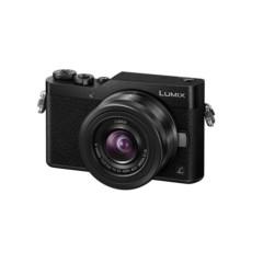 松下 Lumix DC-GF9KGK-K 微型单电套机 神秘黑 4K美颜自拍利器(12-32m