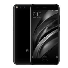 小米 6 全网通 6GB+128GB 亮黑色 移动联通电信4G手机 双卡双待