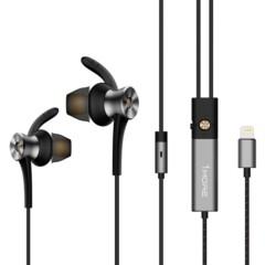 1MORE 高清降噪圈铁耳机(Lightning数字版) E1004 主动降噪 适用多场