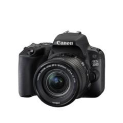 佳能  EOS 200D 单反套机(EF-S18-55mm f/4-5.6 IS STM) 黑色