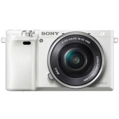 索尼 ILCE-6000L APS-C微单单镜套机 白色(16-50mm镜头 F3.5-5.6 a600