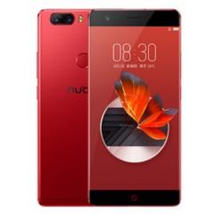 努比亚 Z17 无边框 烈焰红 6GB+128GB 全网通 移动联通电信4G手机 双