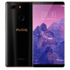 努比亚 Z17S 全面屏 黑金 6GB+64GB 全网通 移动联通电信4G手机 双卡