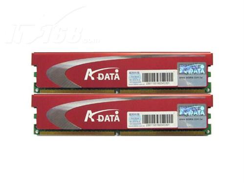 威刚 威刚 4G DDR3 1600+极速飞龙双通道套装 图片