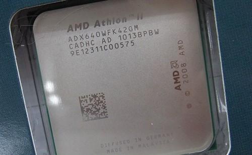 AMD AMD 速龙 II X4 640(盒) 图片