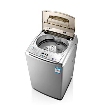 小天鹅全自动洗衣机洗衣服时怎么就转了小半圈?