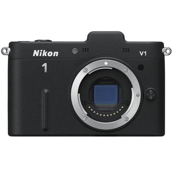 尼康 尼康 (Nikon) V1 (VR10-30/3.5-5.6 )可换镜数码套机(黑) 图片