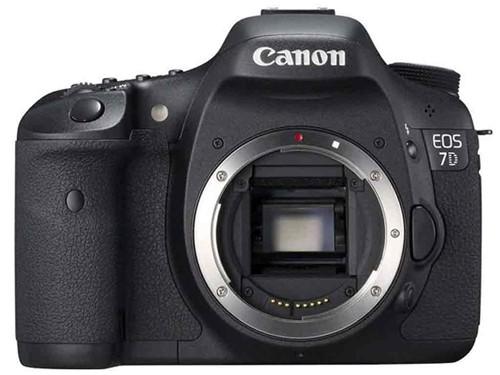 佳能 佳能 EOS 7D 单反机身(中高级单反 1800万像素 3英寸液晶屏 连拍8张/秒) 图片