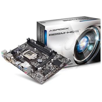 华擎 华擎 (ASRock) B85M-HDS 主板(Intel B85/LGA 1150) 图片