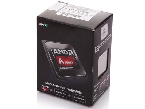 AMD AMD APU系列四核 A10-6800K 盒装CPU(Socket FM2/4.1GHz/4M缓存/HD86 图片