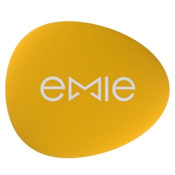 emie 聪明豆 可爱豆型创意 耳机绕线器 黄色