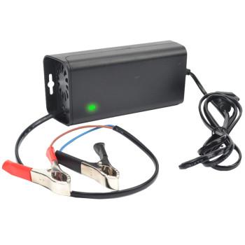 索尔son-1205快速电瓶充电器可充(5ah~50ah)容量蓄电池智能安全充电