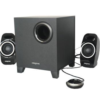 创新t3250w2.1无线蓝牙音箱|音响 方便线控 黑色