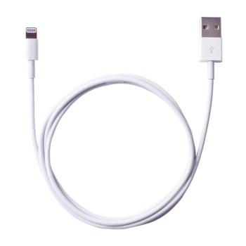 电小二 苹果数据线lightning to usb电源线 白色 适用