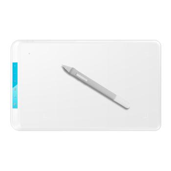 友基 绘影ex07白色数位板手绘板电脑手写板写字输入板电子绘图板绘画