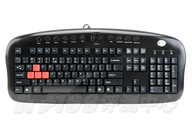 双飞燕火力王套装kx-2810键盘产品图片2(2/36)