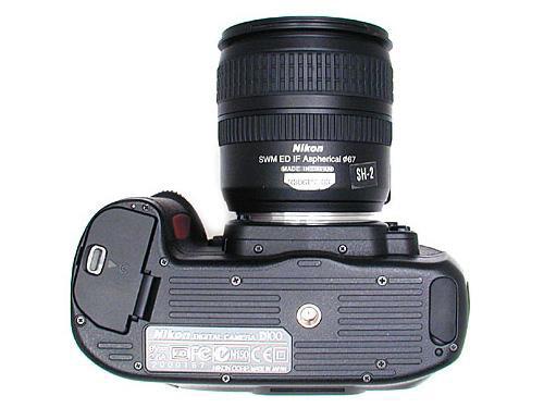 尼康d100_尼康D100数码相机产品图片10-IT168
