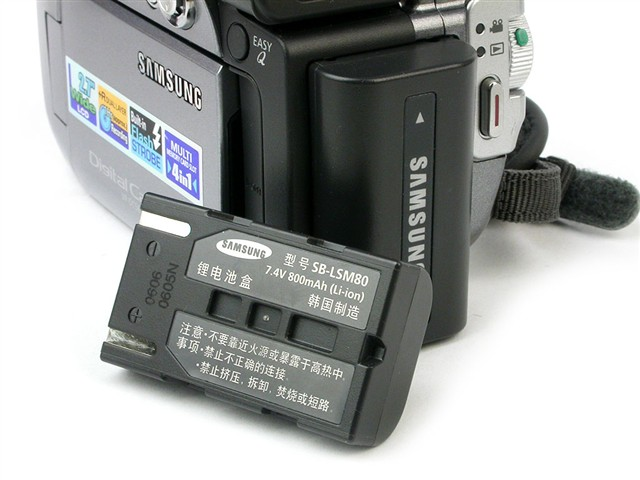 三星VP DC565Wi数码摄像机产品图片23