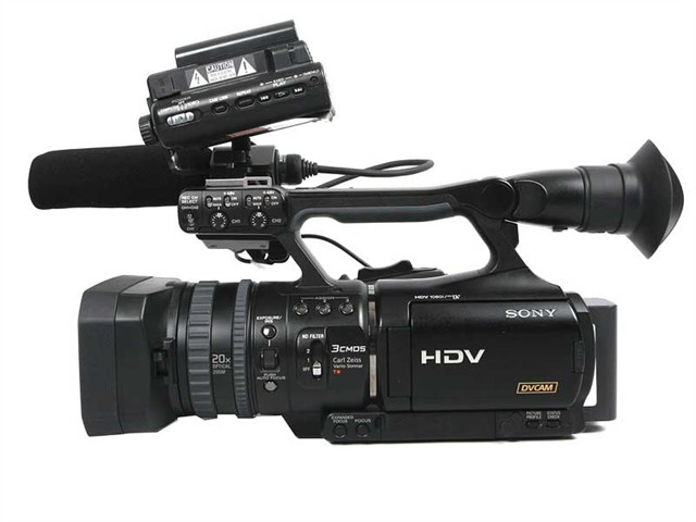 索尼 HVR V1C数码摄像机产品图片8下载 索尼数码摄像机...