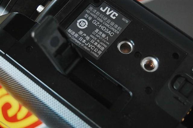 JVCGZ HD3AC数码摄像机产品图片4
