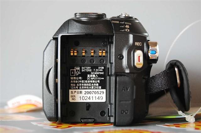 JVCGZ MG575AC数码摄像机产品图片35