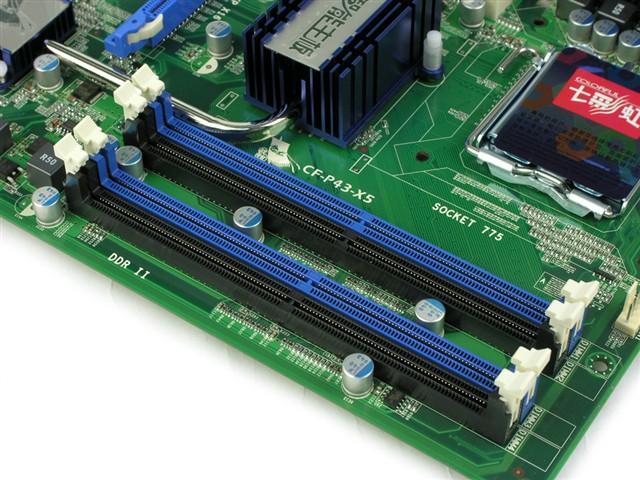 ¥599 主板芯片组:intel p43 cpu插槽:lga 775 主板结构:atx 内存