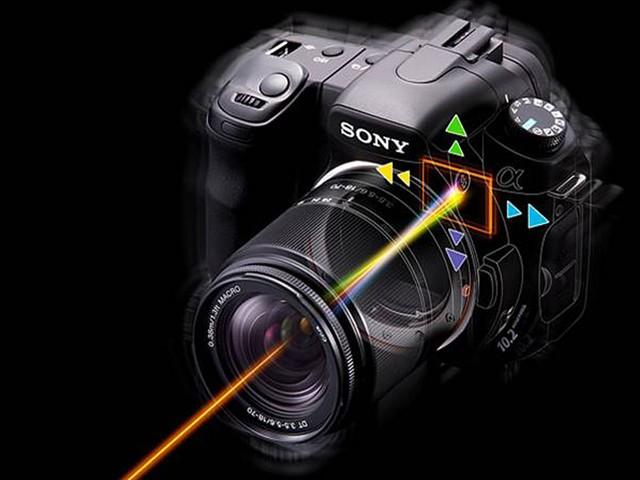 索尼a200 双头套装18 70mm 75 300mm 数码相机产品图...
