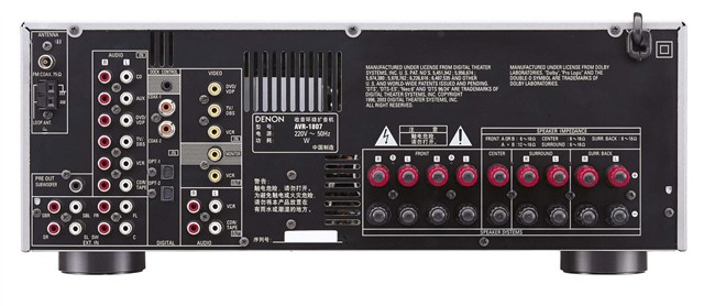 天龙avr-1807音响功放产品图片1-it168