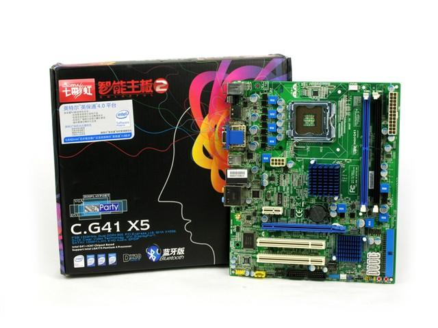 七彩虹C.G41 X5蓝牙版 Ver2.0主板产品图片25图片