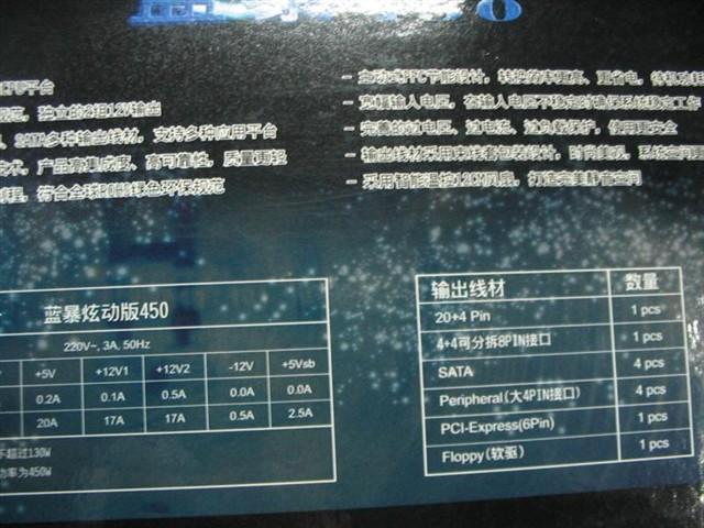 全汉蓝暴炫动版450-fsp电源产品图片18-it168